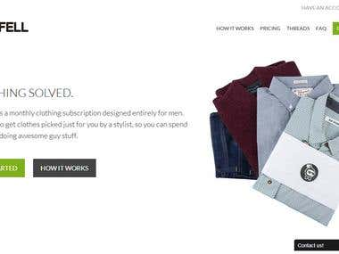 Bombfell is one stop shopping destination designed
