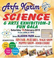 ARFA KARIM SCIENCE AND ARTS EXHIBITION SEASON 2