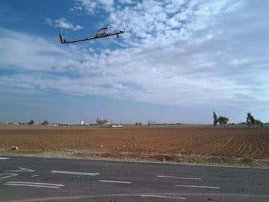solar autopilot plane