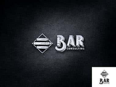 """3 Bar"" Logo Design"