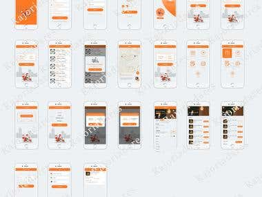Need Designer for some more screens of existing mobile app
