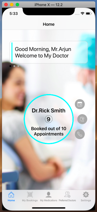 Doctor/Medical Appointment - iOS and Android Mobile Apps