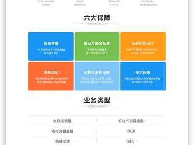Finacial Technology Website Design