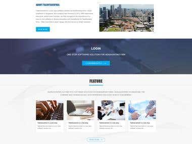 Enterprise Website Customization and Development