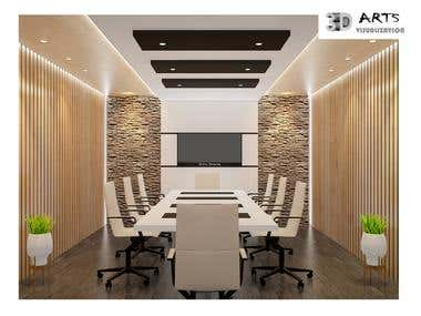 18. Interior Commercial Project- Meeting Room.