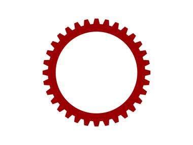 BUET logo animation