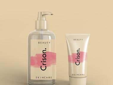 Cosmetic Label design