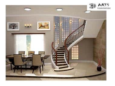 3. Interior Residential project