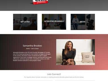 Website - Book Author