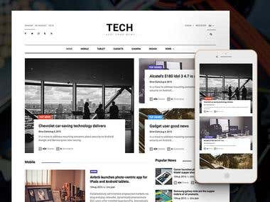 News Website in PHP