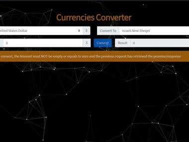 Currencies Converter
