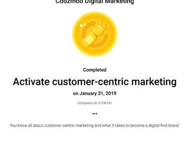 Activate customer-centric marketing
