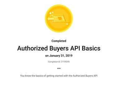 Authorized Buyers API Basics