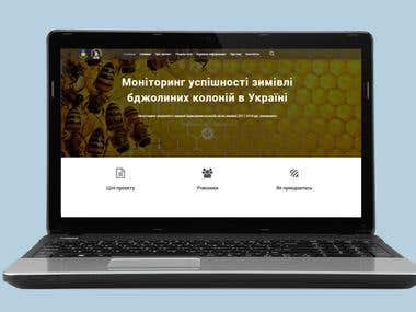 Website for the organization of nature conservation