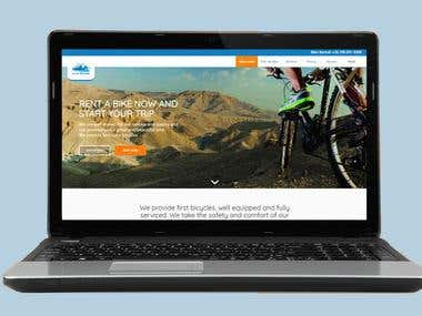 Bike Rental Website