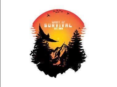 Adventure Design Allready Print on Tshirt, Mug, Bag, etc