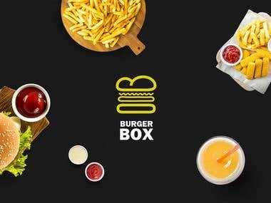 Complete brand desgin for fastfood resturant.
