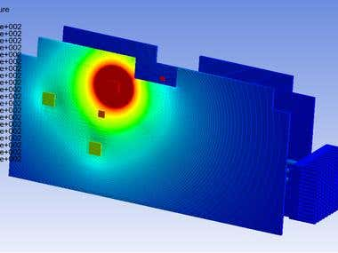 Heat sink Design And DCU thermal Analysis