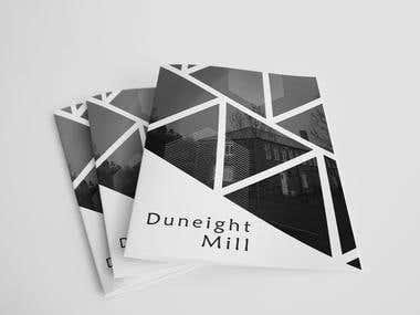 cover design for Duneight Mill