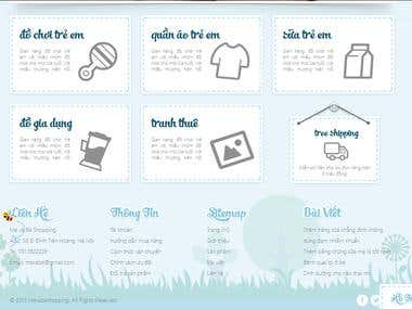 Website for mother and baby