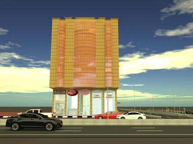 Exterior Tower 3D Design