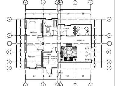 Conver 2D plan to 3D rendering on Autocad