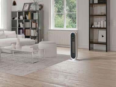 Indoor Heater Concept