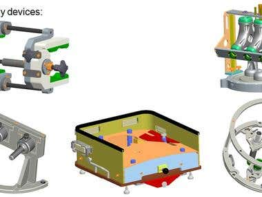 Different tool and jigs design