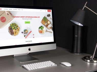 React.js - Food Ordering Website