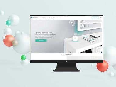 Keenhome e-commerce (WordPress)