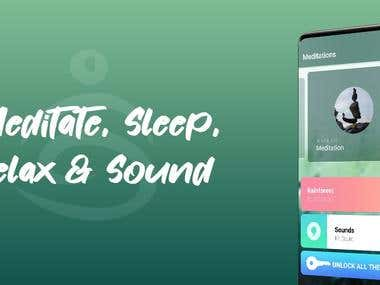 Meditate, Sleep, Relax & Sound
