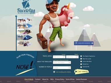 Facetrip website