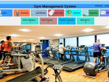 Gym Management System Project