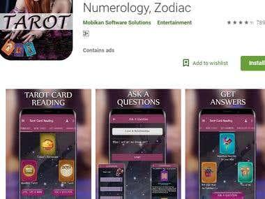 Horoscope -Tarot Card, Numerology, Zodiac- 90,000 installs