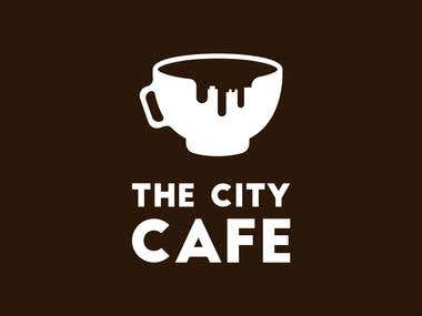 The City Cafe Logo Entry