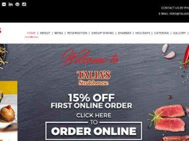 Thalia's Steak house