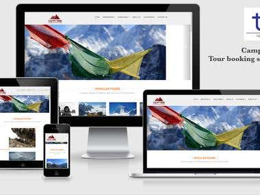 Online Tour Booking Site
