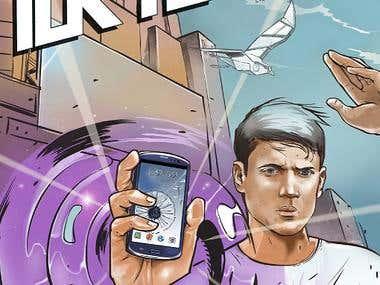 SAMSUNG Phone comic strip