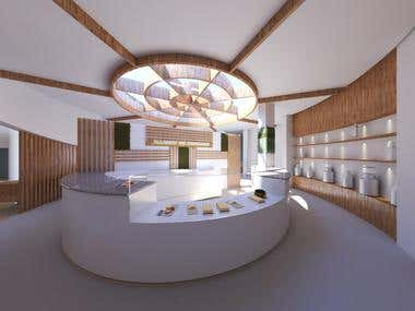 Rendering Fromagerie