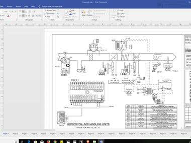 ELECTRICAL DIAGRAM CREATING WITH VISIO