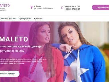 Online store women clothes