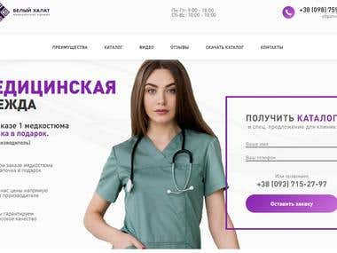 Online store medical clothers