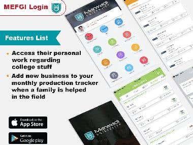 MEFGI Login - Complete College Management App