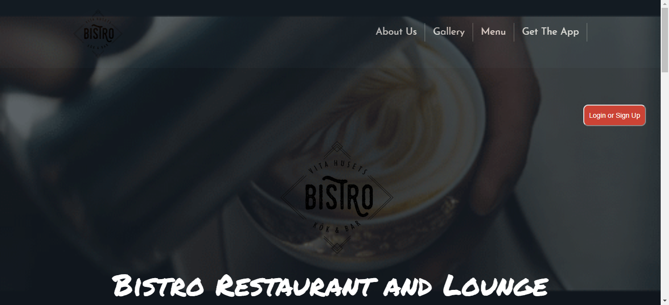 What Bistro has for You?