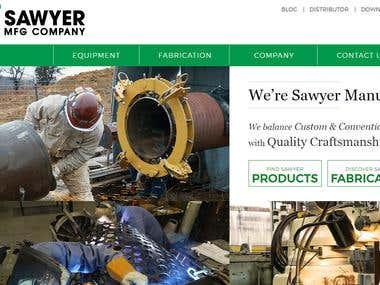 MFG Company - Responsive Website