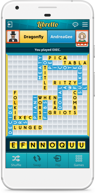Libretto - Crossword Puzzle Game
