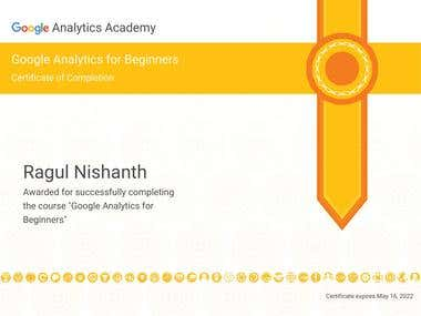 Google Analytics - Beginner