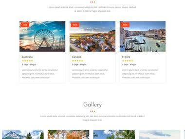 voyage tours and travels website