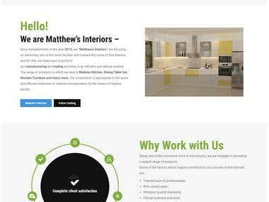 Matthews Interior's (http://www.matthews.co.in/)