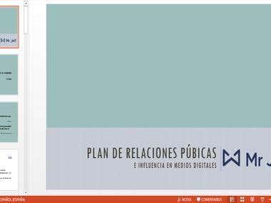 Plan de Relaciones Públicas e Influencers
